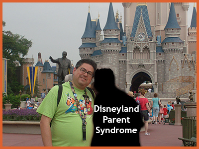 The Disneyland Parent Syndrome Defined by Fred Campos, @FullCustodyDad https://www.daddygotcustody.com blogger