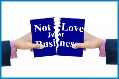 No Longer Love, Now It's Business by Fred Campos https://www.daddygotcustody.com