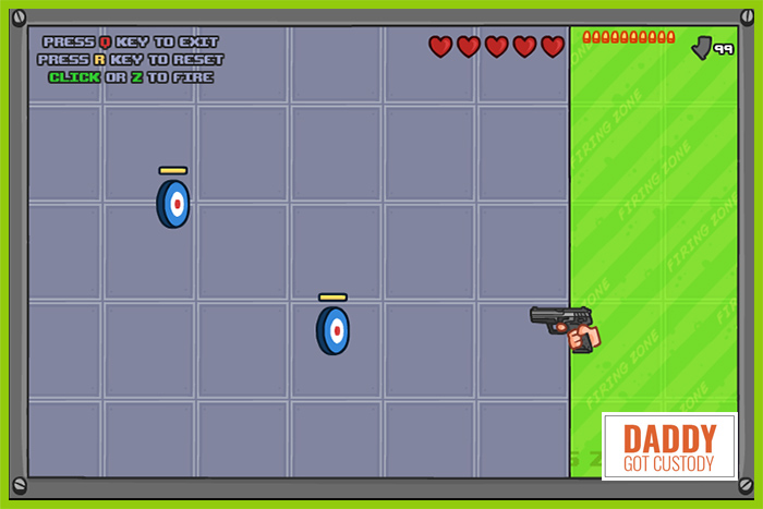 Fred's #4 Online Game PapaLouie The Gun Game Redux