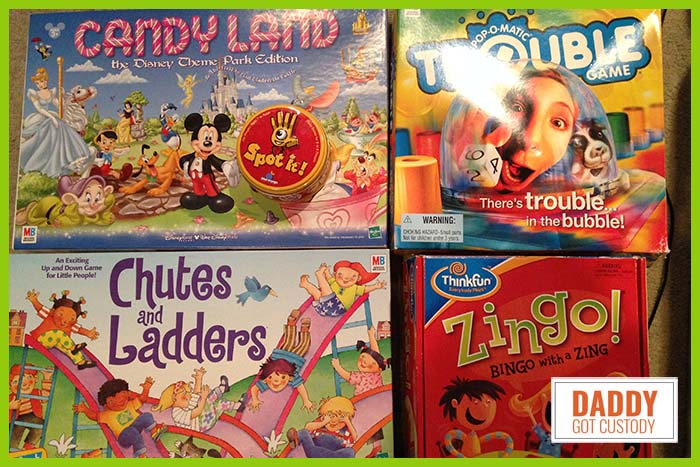 5 Great Kindergarten Games to Play https://www.DaddyGotCustody.com