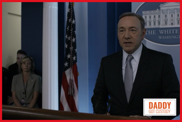 House of Cards Season 3, Chapter 31 – War on Congress