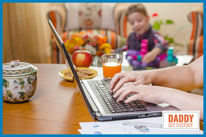 Divorced Parent, Is Working at Home Right for You?