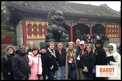 Beijing and Forbidden City, 2015 China Delegates https://www.DaddyGotCustody.com