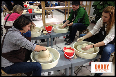 China Trip Pottery Making https://www.DaddyGotCustody.com