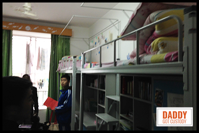 Inside Jiangxi Chinese Dorm Room