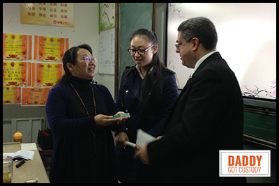 Presenting Teacher Gifts in China