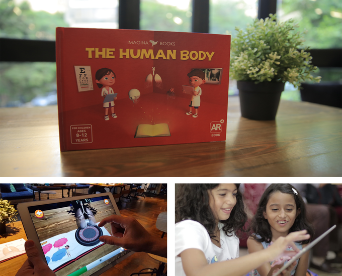 Imagina Books Series of Educational Augmented Reality