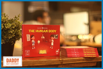The Human Body by Imagina Books https://www.DaddyGotCustody.com