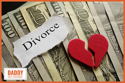 True Cost of Divorce by https://DaddyGotCustody.com